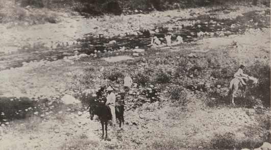 Camino Santa Isabel a Coamo 1899.