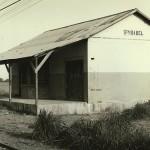 Estación del tren en 1969