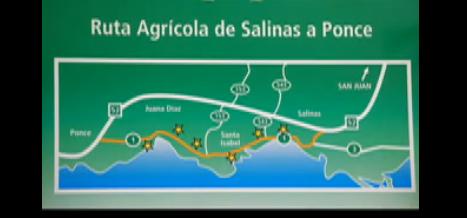 La ruta agrícola del sur